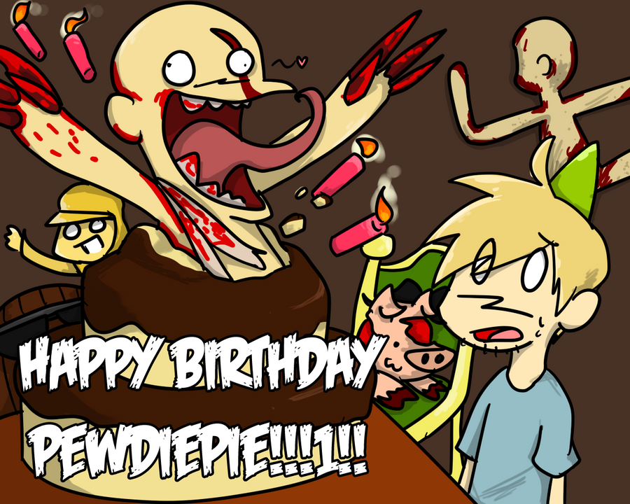 Surprise PewDiePie!!! by NSYee36