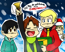 Christmas CountDown Day 22 by NSYee36