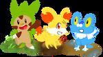 6th Generation Starter Pokemon