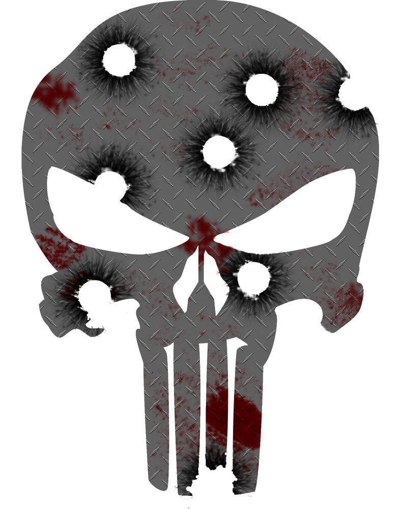 Steel Punisher Skull by iDog78 on DeviantArt