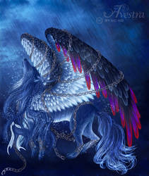 Avestra Wolf by AndreasAvester