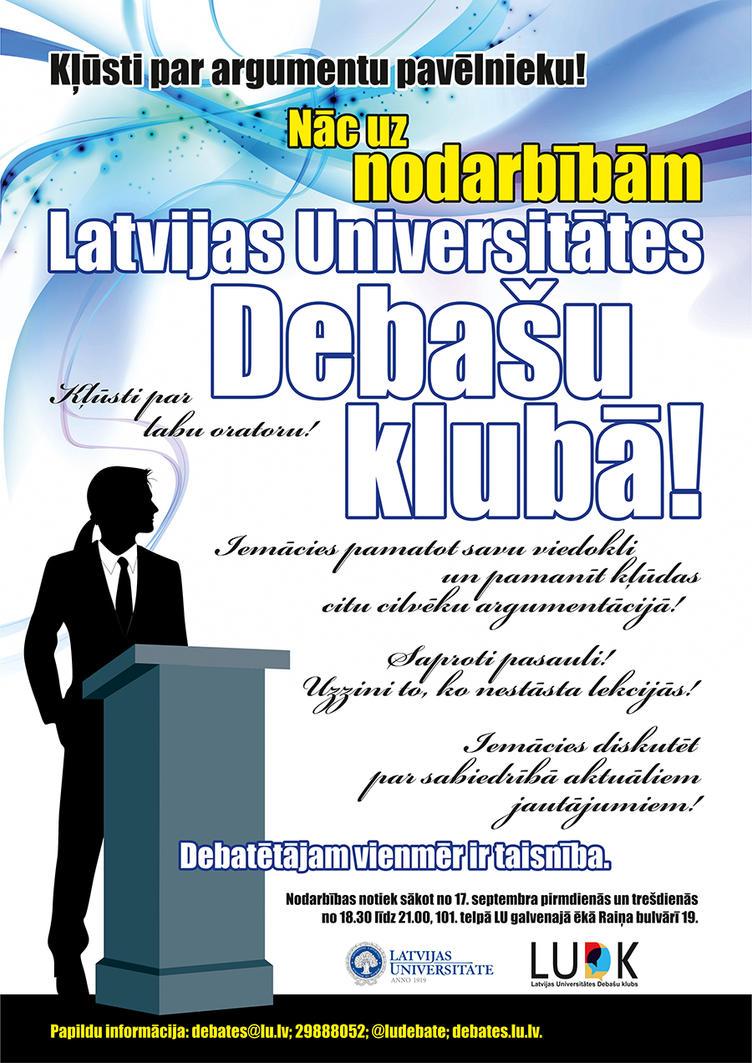Debate Club Debate club poster iii by