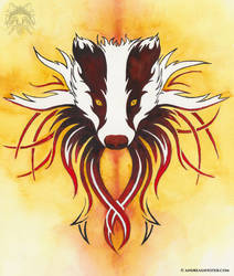 Badger Tribal by AndreasAvester