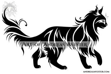 Cat Logotype by AndreasAvester