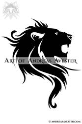 Lion Tribal by AndreasAvester