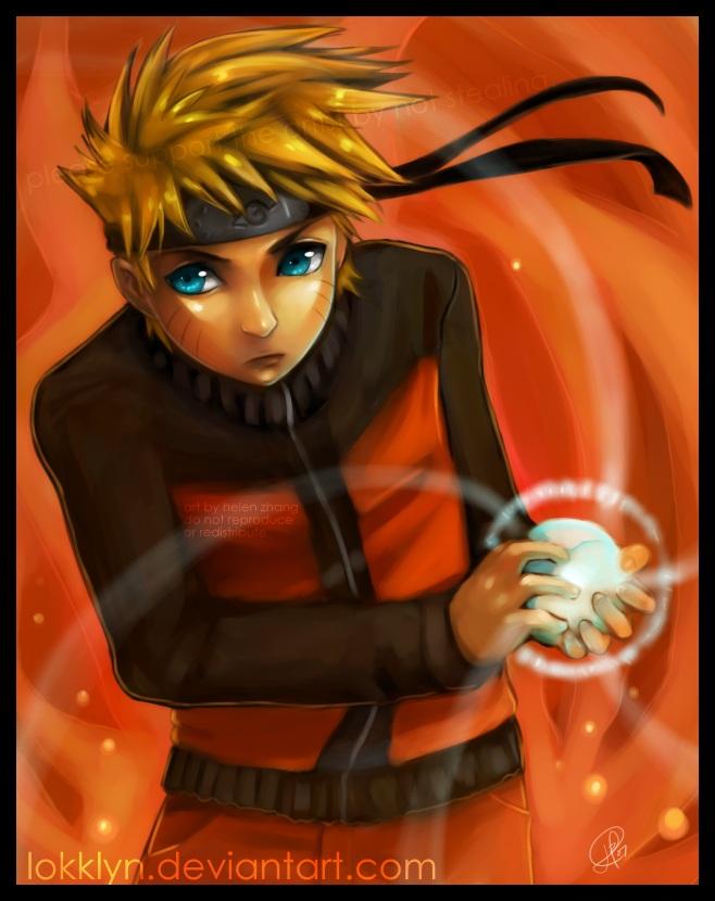 Naruto by Lokklyn