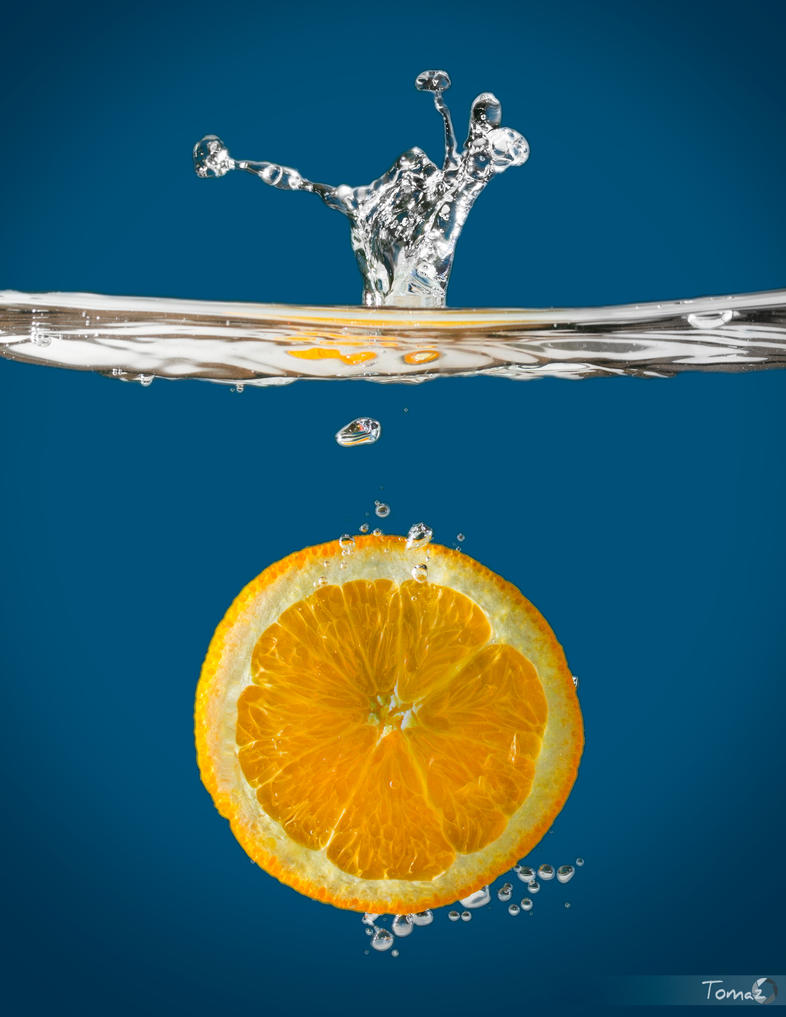 OranGe SplaSh by TomazKlemensak