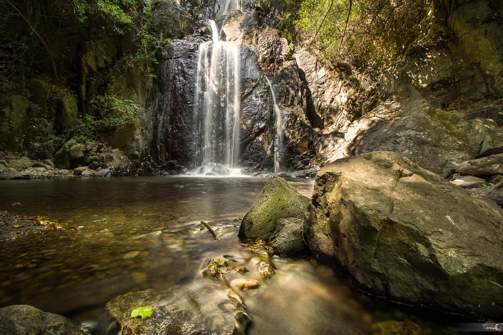 Sos Molinos waterfalls II by TomazKlemensak