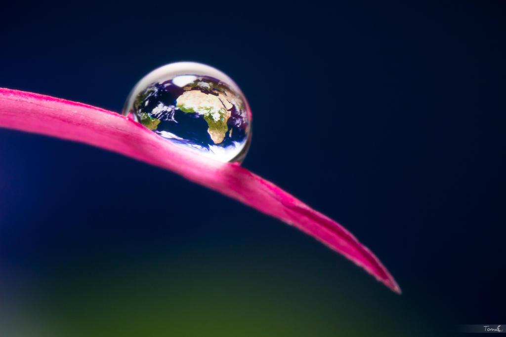Earth Tear by TomazKlemensak