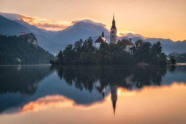 Bled Island by TomazKlemensak