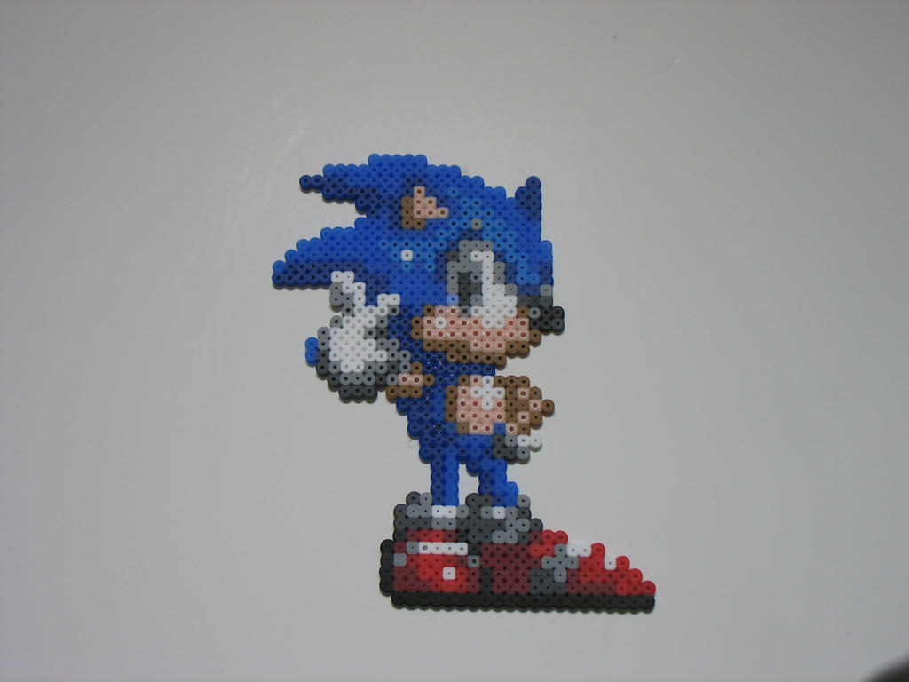Super Sonic Bead By Gamercolin Deviantart Dibujos Para Colorear