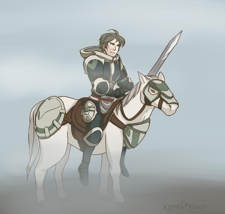 Fire Emblem: Awakening - Stahl by XyraFhoan on DeviantArt