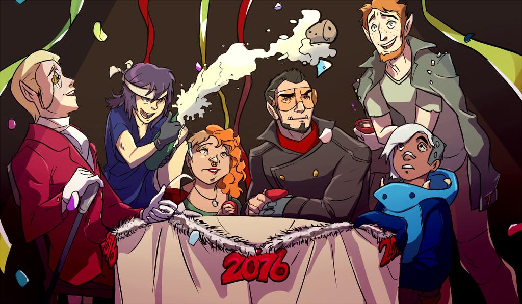 Runner's New Years by XyraFhoan