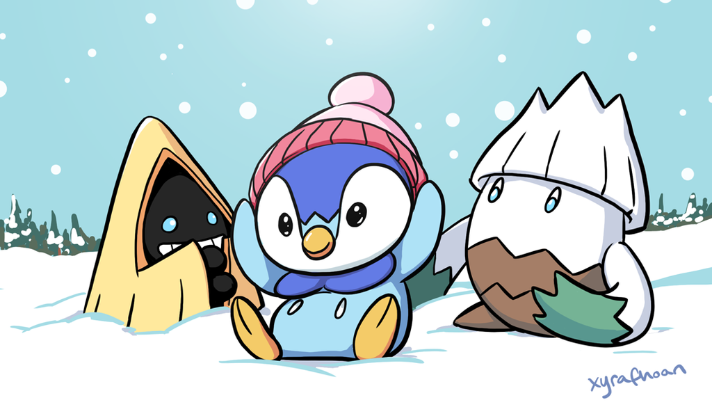 Sinnoh Friends! by XyraFhoan