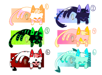 Gacha kitty adopts!! [2/6 OPEN] by P3pperC4t