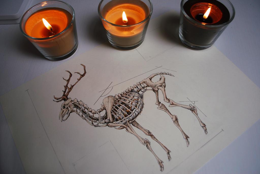 Mechanic deer by HviturHrafn
