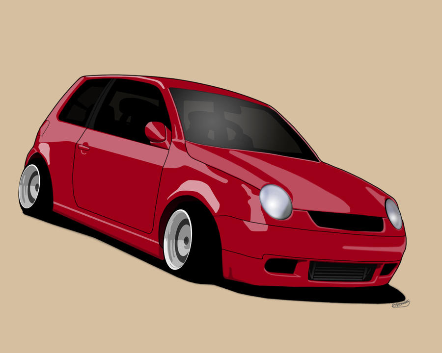 Volkswagen Lupo Toon by Knowleso