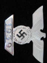 1939 Nazi Officer Medal