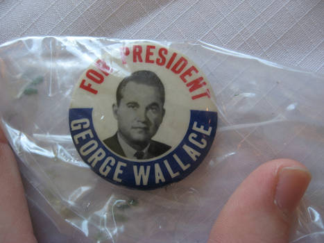 George Wallace button