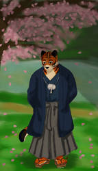 Sakura and Tiger