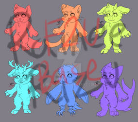 F2U Chibi Furry Base (Multiple Species)