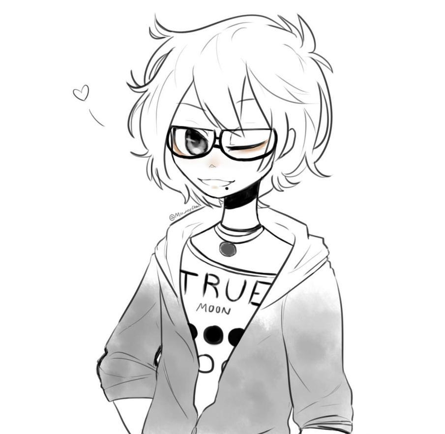 Dibujo Anime A Lo Yolo Xd By Mioku Nekito On Deviantart