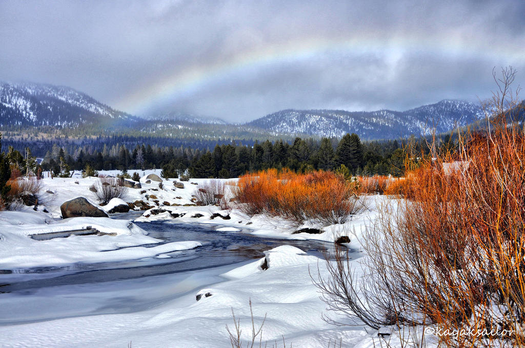 Full bow over Hope Valley by kayaksailor