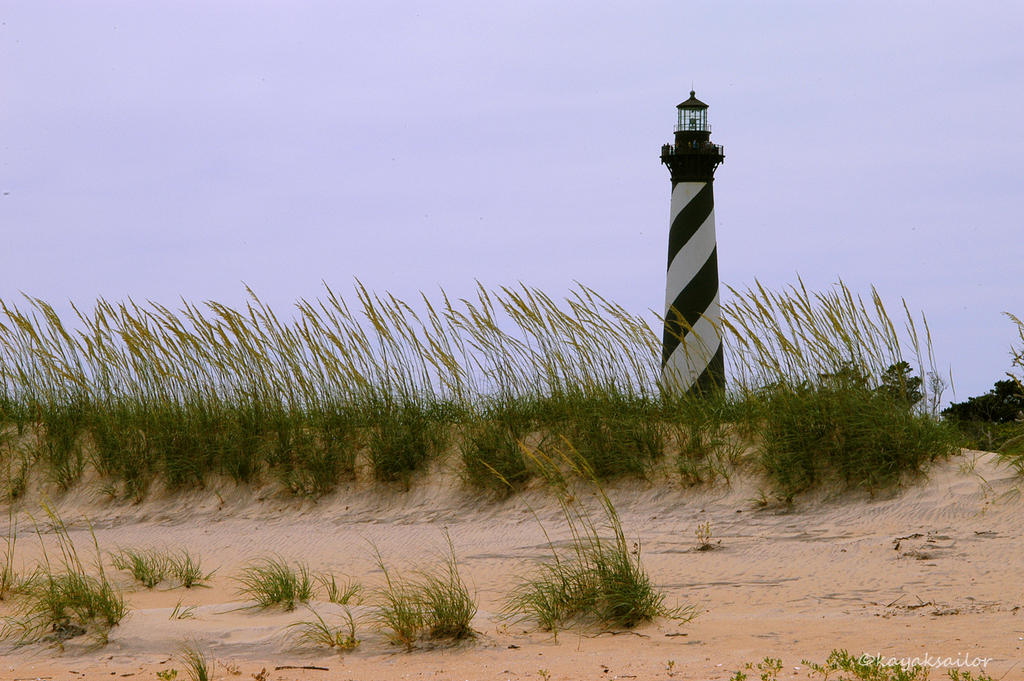 Cape Hatteras Lighthouse by kayaksailor