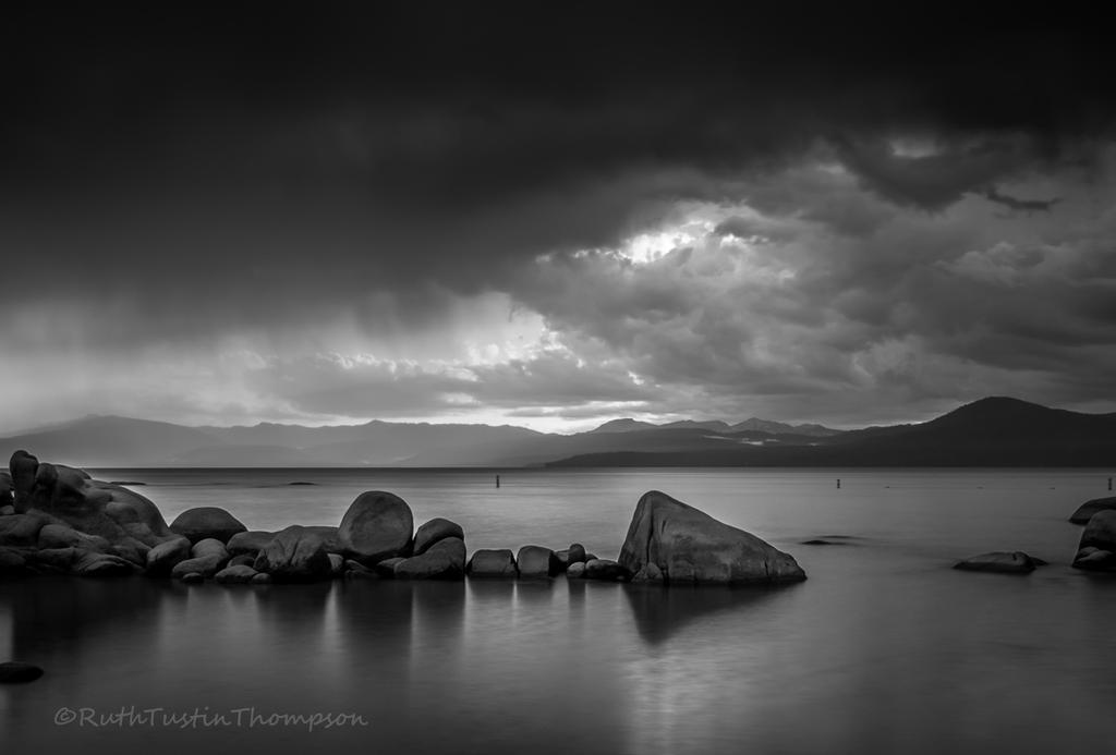 Storm over the lake by kayaksailor