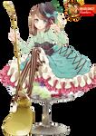 Fruits Anime Girl -Render-