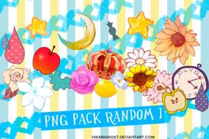Pack Png Random 1 by HikariGhost