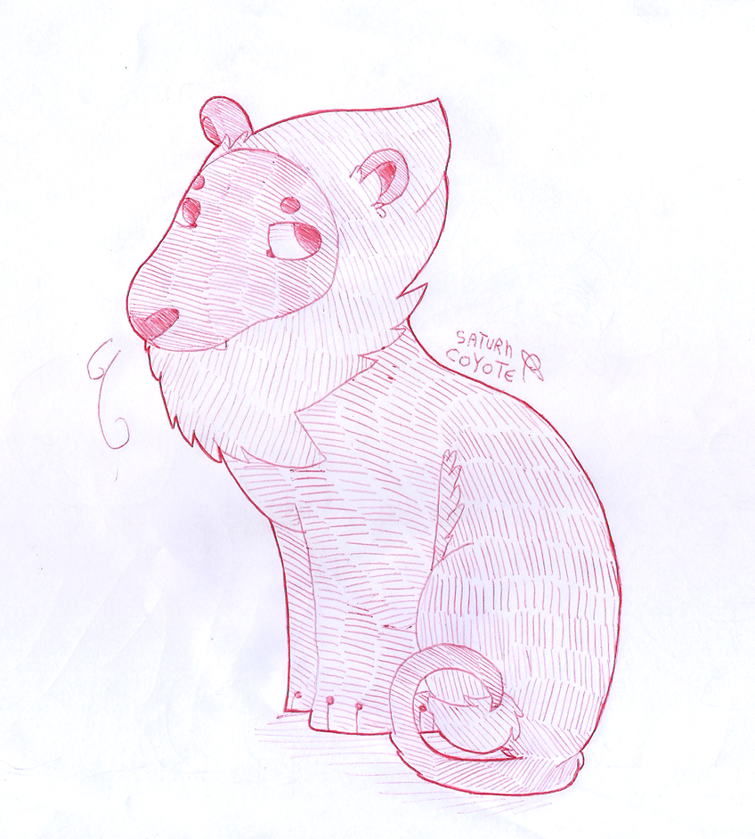 Lion from Steven Universe because i'm trash.