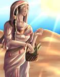 Desert Rose- Kishar by SunlessRose