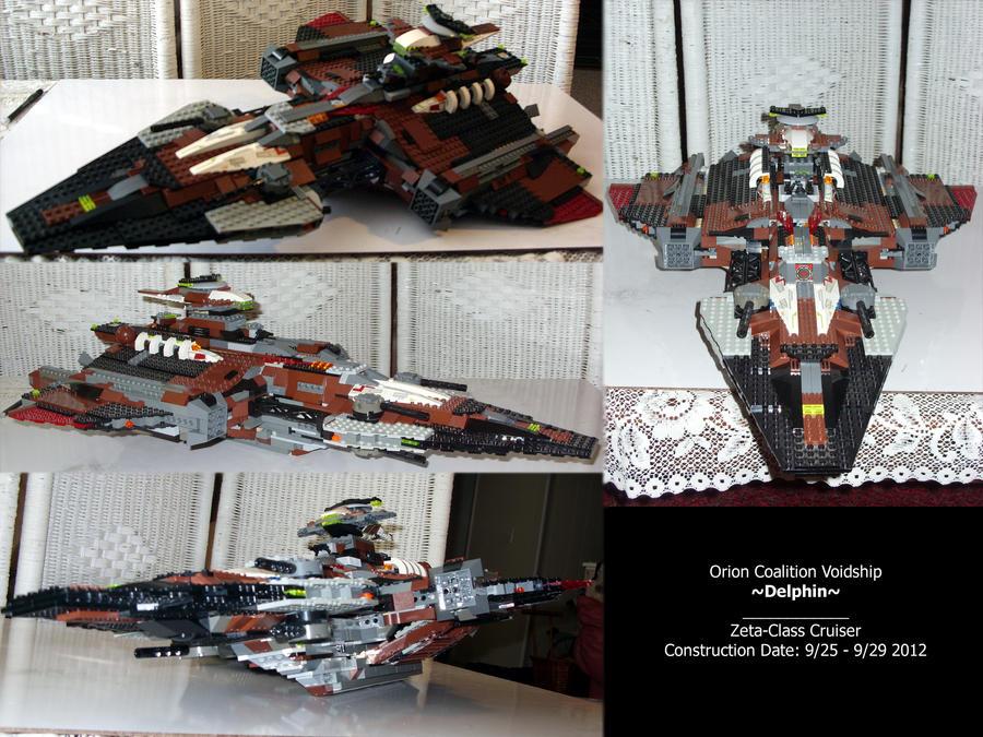 Delphin Lego Model by ClefJ