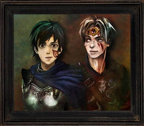 Enderal- Our Portrait by ClefJ
