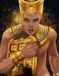 the Magical  Golden Tablet of Akhmenrah