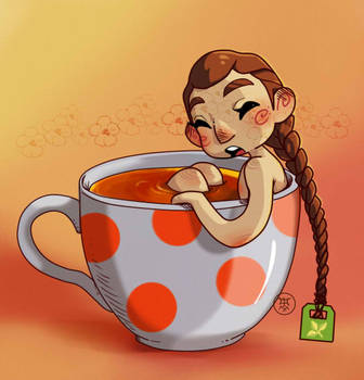 Tea bag by volkradugi