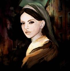 The portrait II by MerlinMarkell