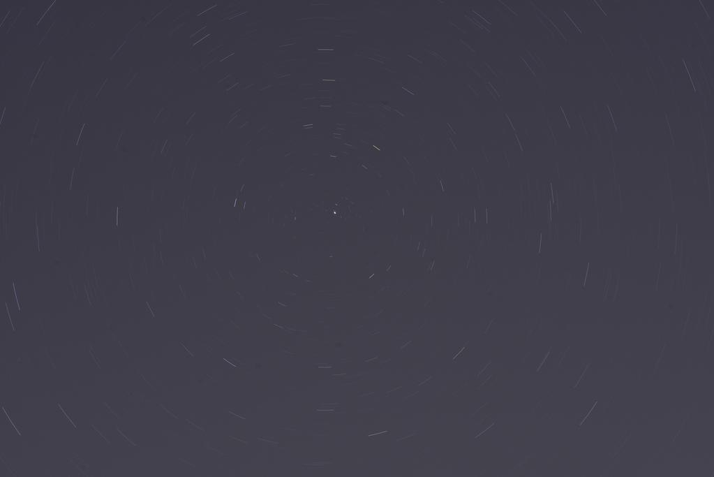 Star Trails around Polaris by UltraSonicUSA
