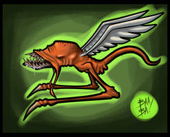 Flying Creature by 2BeanSoup