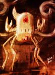Robot-Crab Speedpaint