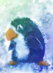 penguin speed paint