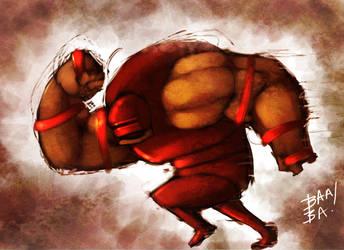 Juggernaut Speed Paint by 2BeanSoup