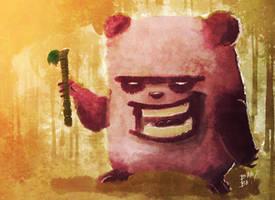 Panda Snack by 2BeanSoup
