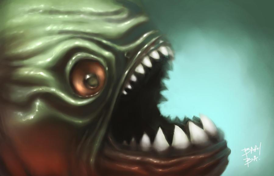 Piranha Chomp by 2BeanSoup
