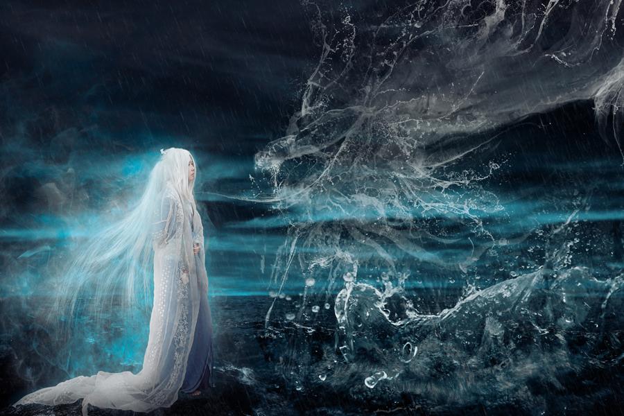 god Calls Water Dragon by RuiYujin