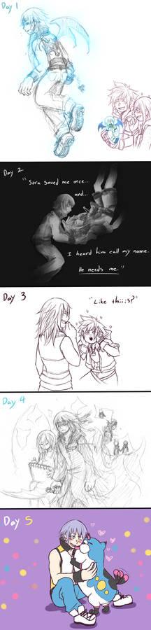 Riku Week Compilation (Days 1-5)