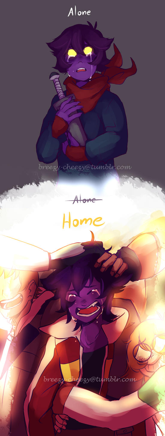 Home is Where You Go When You're Alone by Medli45