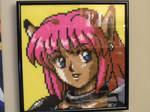 Phantasy Star IV - Rika framed