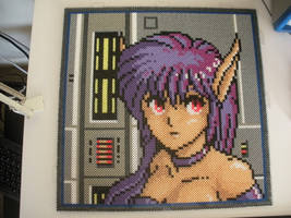Phantasy Star II - Nei pre-iron by TheChairSlayer
